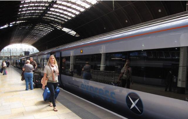 Traukiniais po Didžiąją Britaniją
