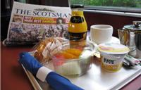 Pusryčiai traukinyje