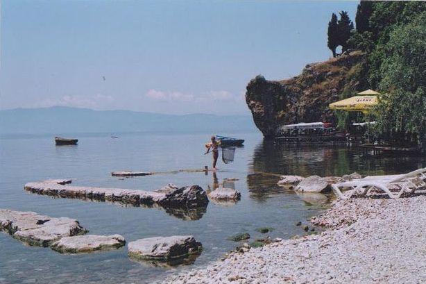 Ohrido ežeras Makedonijoje