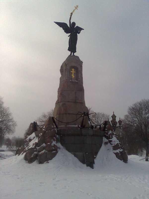 Kreiserio undinėlės paminklas