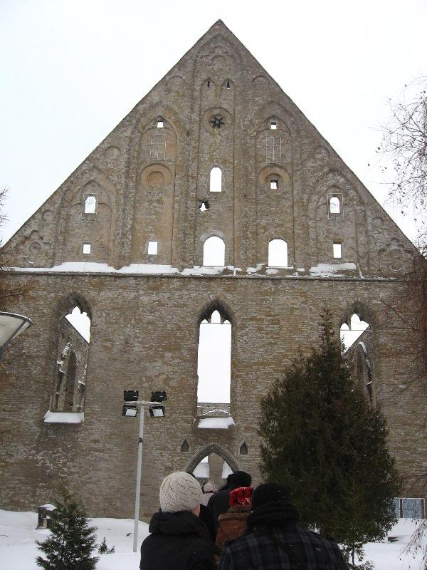 Piritos vienuolyno griuvėsiai