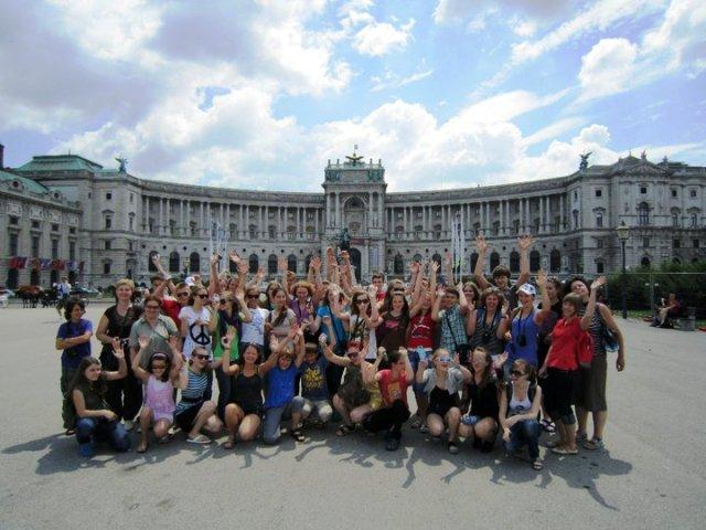 Stovykla Kroatijoje. Sustojimas Vienoje