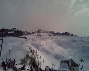 Grand Montets pagrindinė slidinėjimo zona