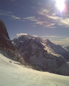 Jo didenybė Mont Blanc