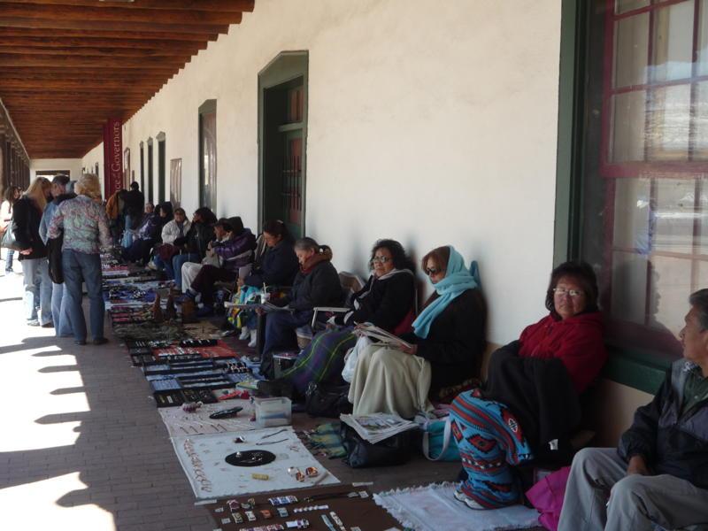 JAV. Indėnų turgus Sante Fe