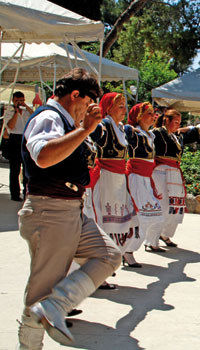 Retymno vyno šventė, Kreta