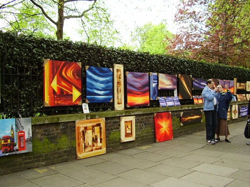 Londonas, Bayswater Road Artists