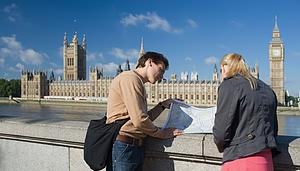 Turistai Londone