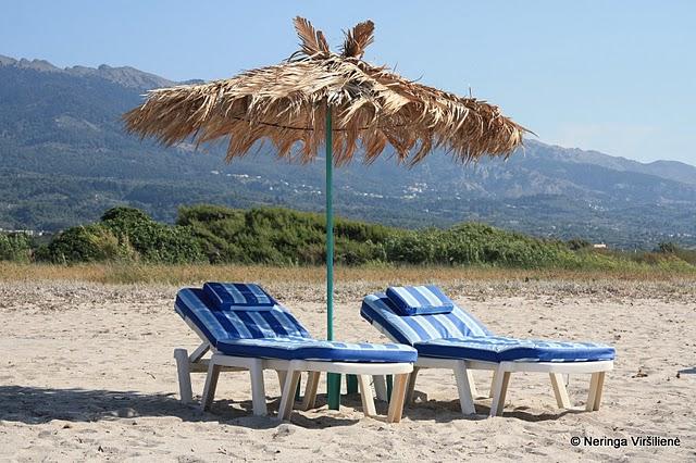Kos. Graikiski motyvai pliaze