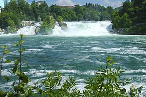 Neuhasen krioklys Šveicarijoje