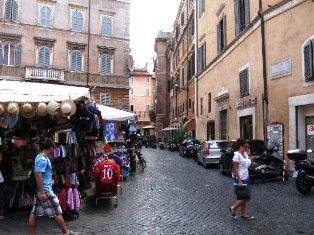 Romos gatvelės. Italija