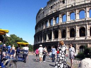 Koliziejus Romoje. Italija