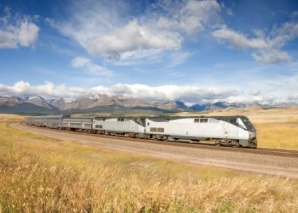 Traukiniai JAV