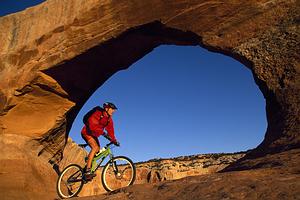 Kalnų dviračiais Moab, JAV