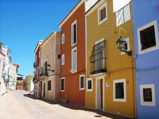 Villayosa gatvelės. Ispanija