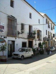 Altea gatvelės. Ispanija