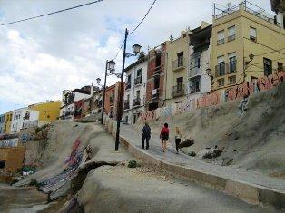 Alikantės gatvelės. Ispanija