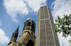 Kaizerio Vilhelmo bažnyčia (Kaiser Wilhelm Gedächtnis Kirche), Berlynas
