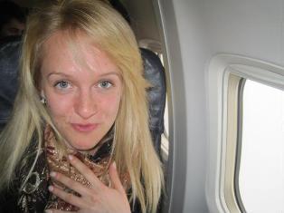 Pirmą kartą skrendant lėktuvu