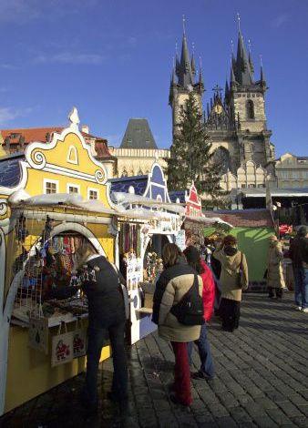 Kalėdinė mugė Čekijoje