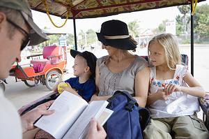 kelionės su šeima