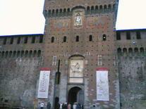 Castello Sforzesco. Milanas, Italija