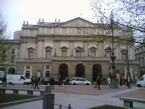 La Scala Opera. Milanas, Italija