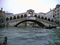 Ponte di Rialto. Venecija, Italija