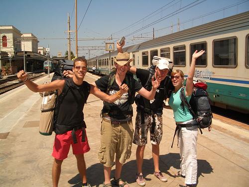Kaip keliauti su InterRail