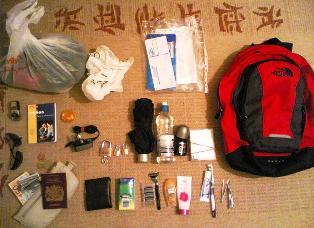 Bagažas keliaujant su InterRail