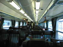 Interrail. Traukinys. Italija