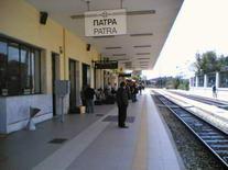 Patras traukinių stoties platforma