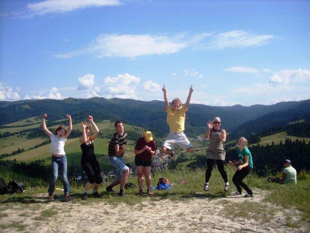 Stovykla Slovakijoje