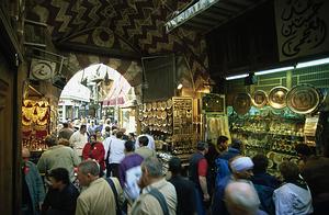 Khan Al-Khalili, Kairas, Egiptas
