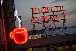 Pike Place Market, Sietlas, JAV