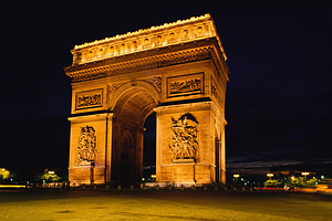 Triumfo arka, Paryžius