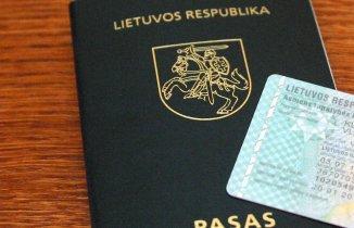 Pasas arba asmens tapatybės kortelė