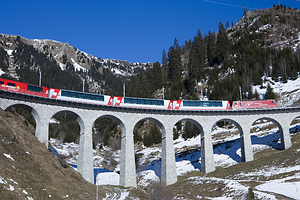 Switzerland's Glacier Express