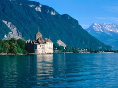 Šijono pilis Šveicarijoje