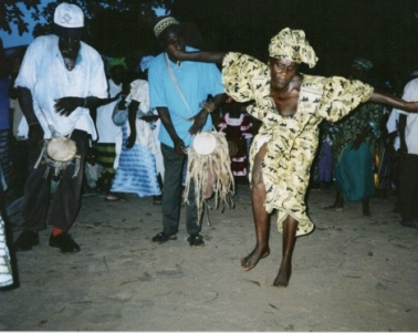 Mandinka šokiai, Vakarų Afrika
