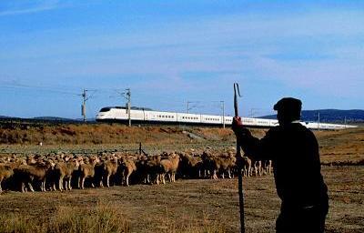 Po Ispaniją traukiniu