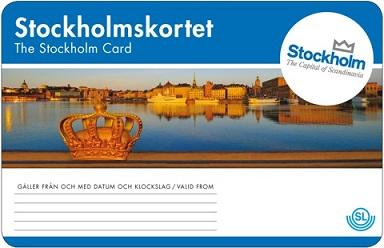 Stokholmo miesto kortelė