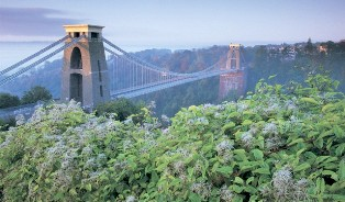 Clifton Suspension Bridge, Bristolis, Anglija