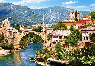 Senasis tiltas (Stari Most), Mostar, Bosnija ir Hercegovina