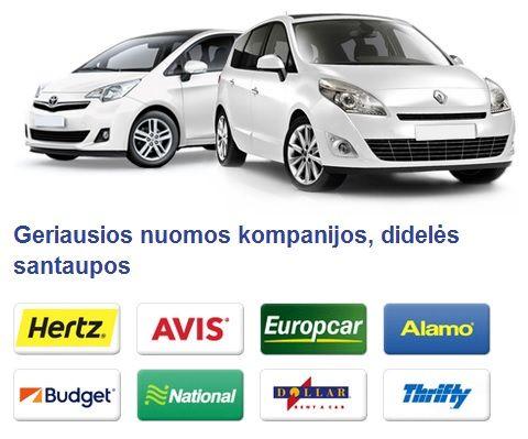 AUTOMOBILIO NUOMA INTERNETU. Mažos kainos, didelis pasirinkimas