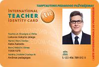 ITIC - tarptautinis pedagogo pažymėjimas