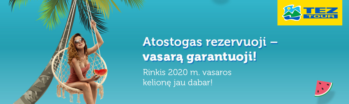 2020 m. vasaros sezono kelionės