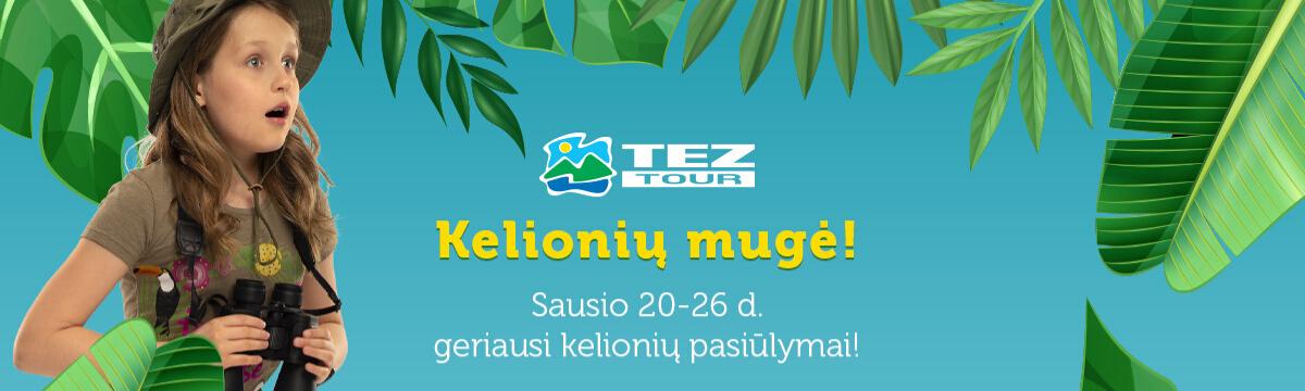 Teztour kelionių mugė