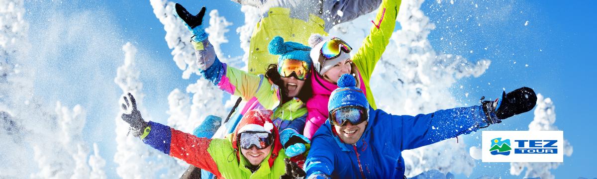 TEZ TOUR slidinėjimo kelionės